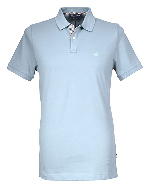 Aquascutum - Polo - para Hombre Verde Egg Shell X-Large: Amazon.es ...