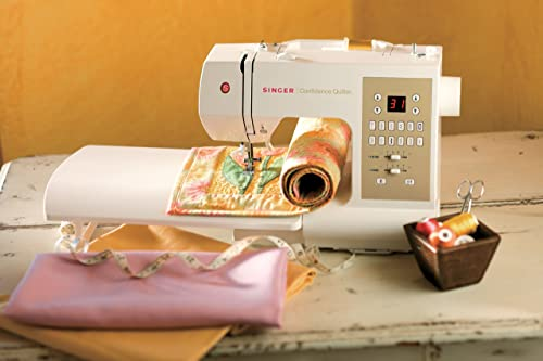 SINGER Confidence Quilter 7469Q Computerized Electronic Portable Sewing Machine with 98 Builtin Stitches