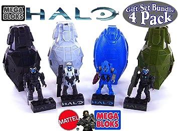 Mega Bloks Halo Drop Pod Metallic Stealth ODST, Arctic ODST
