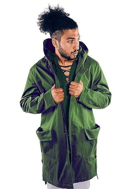 Musterbrand Zelda - Abrigo para Hombre, Color Verde - Verde ...