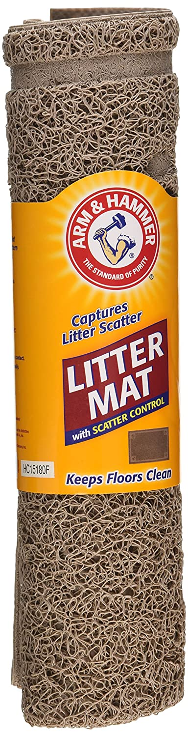 Arm and Hammer Stay Fresh Cat Litter Mat with Scatter Control