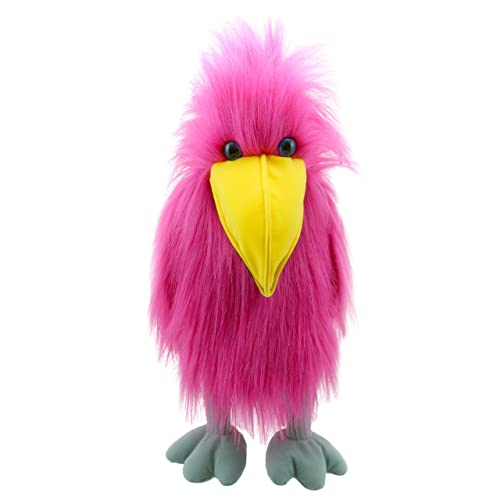 The Puppet Company - Colourful Birds - Pink Bird Hand Puppet