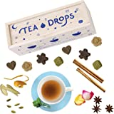 Tea Drops Instant Organic Pressed Teas | Standard Herbal Tea Sampler Assortment Box | Eliminates the Need for Teabags and Sweetener Packets | Great Gift for Tea Lovers | Delicious as Hot or Iced Tea