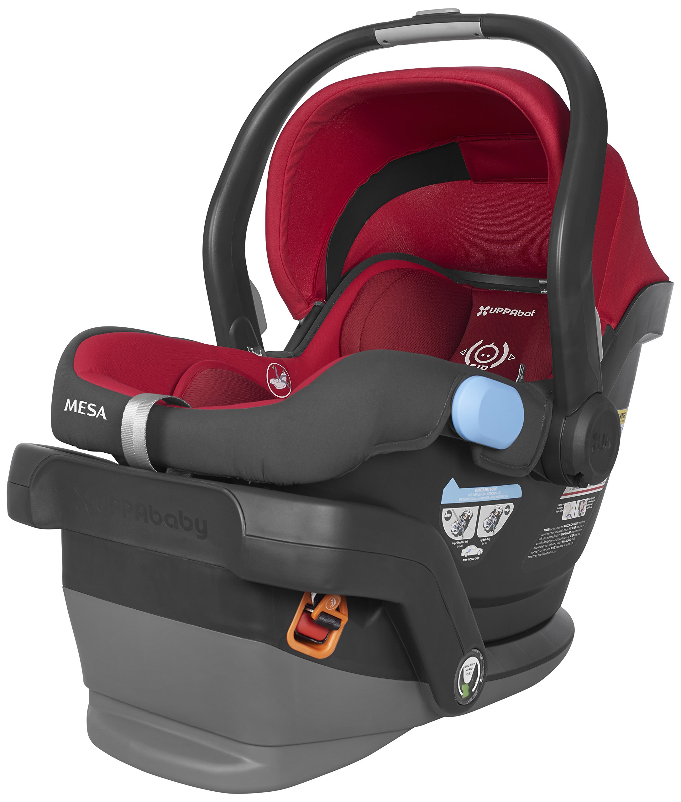 2018 UPPAbaby MESA Infant Car Seat -Denny (Red)