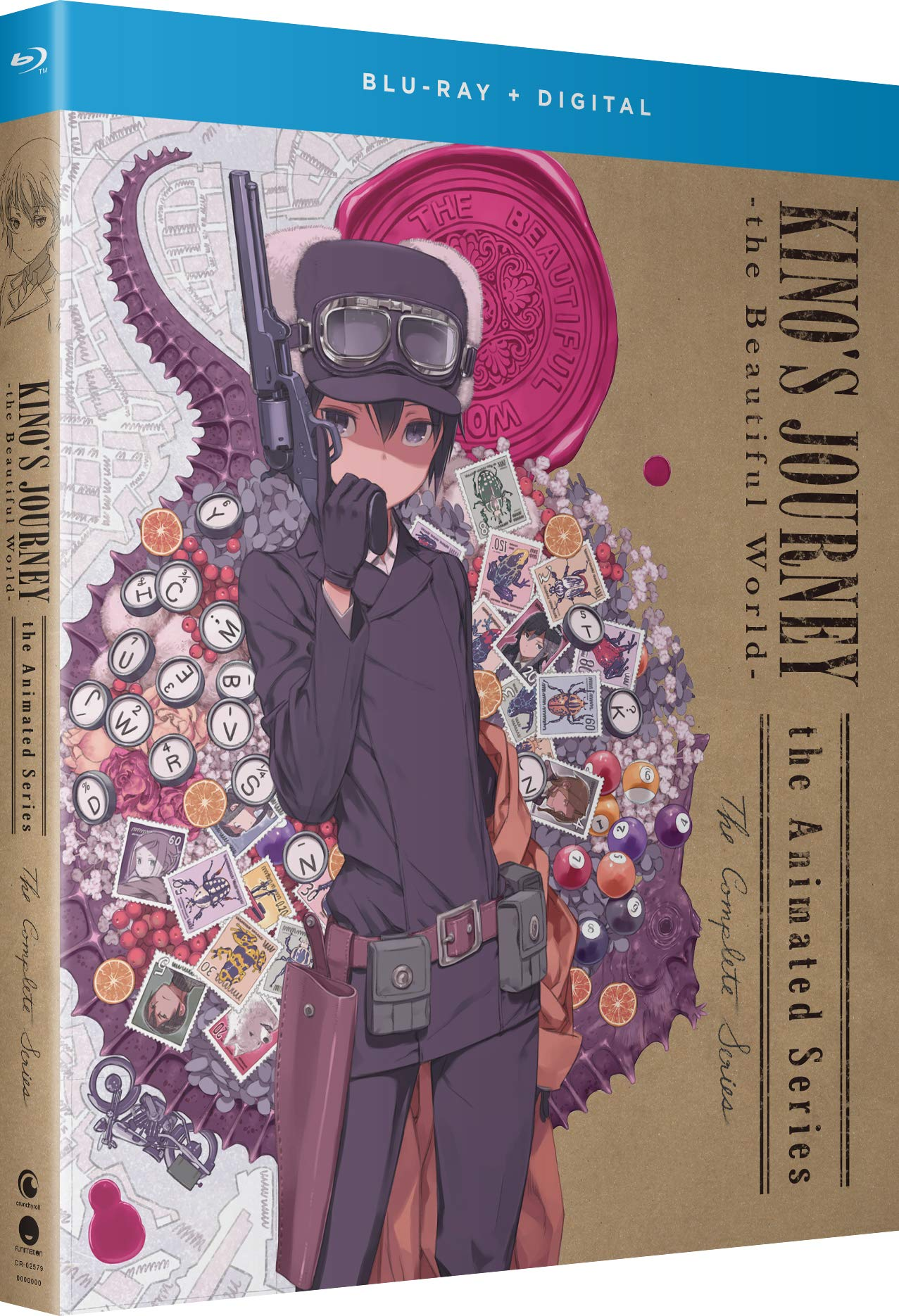 Blu-ray : Kino's Journey: The Beautiful World - The Animated Series - Thecomplete Series (Subtitled, Digital Copy)