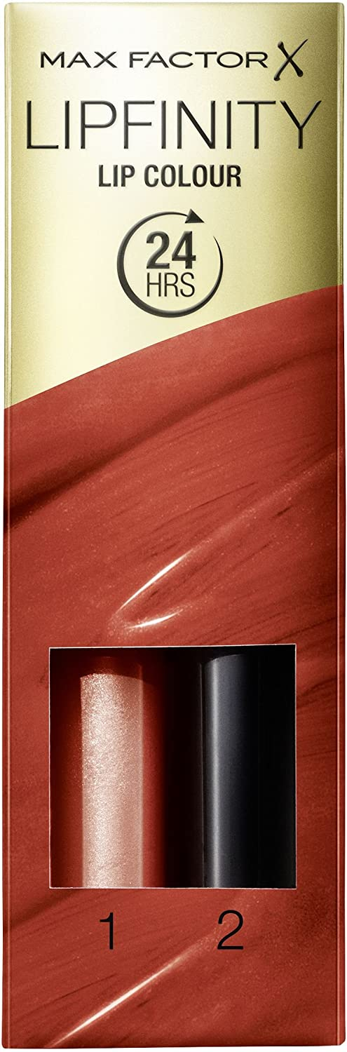 Max Factor Lipfinity Lipstick for Women, 130 Luscious, 0.14 Ounce