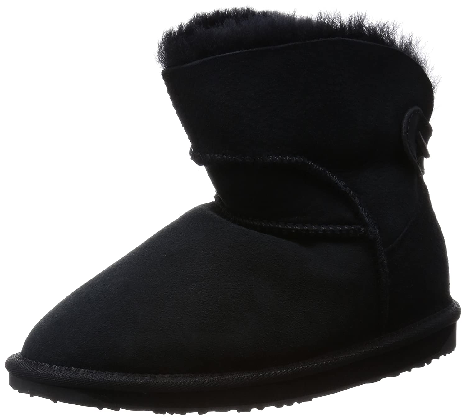 Buy Emu Australia Women S Alba Mini Snow Boot Black 8 M Us At Amazon In