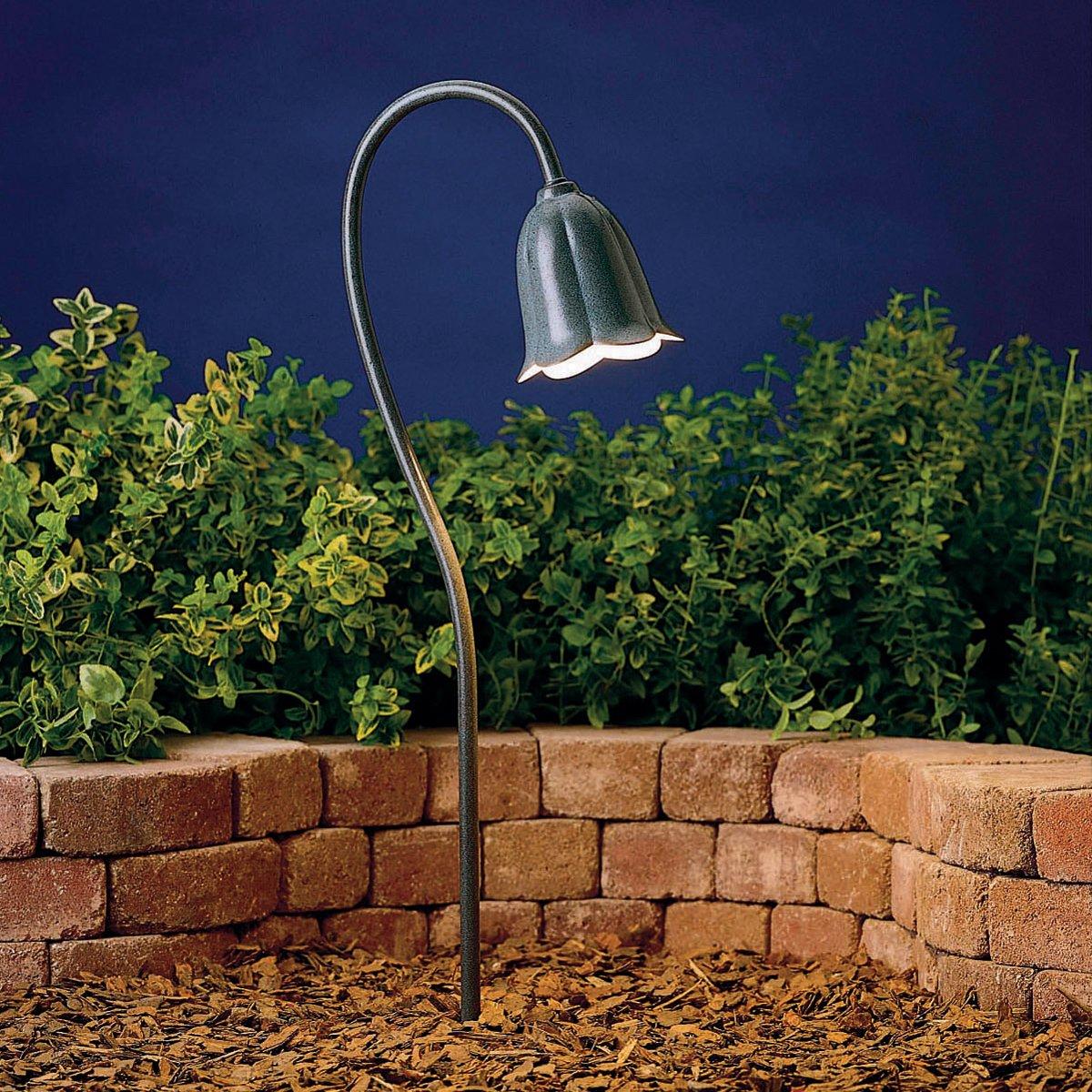 15349MST Tulip 1LT Incandescent/LED Hybrid Low Voltage Landscape ...