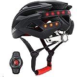 Livall - BH60SE 2018- Smart Bike - Casque Bluetooth sans fil avec guidon télécommande - Mixte - Noir - 55-61cm