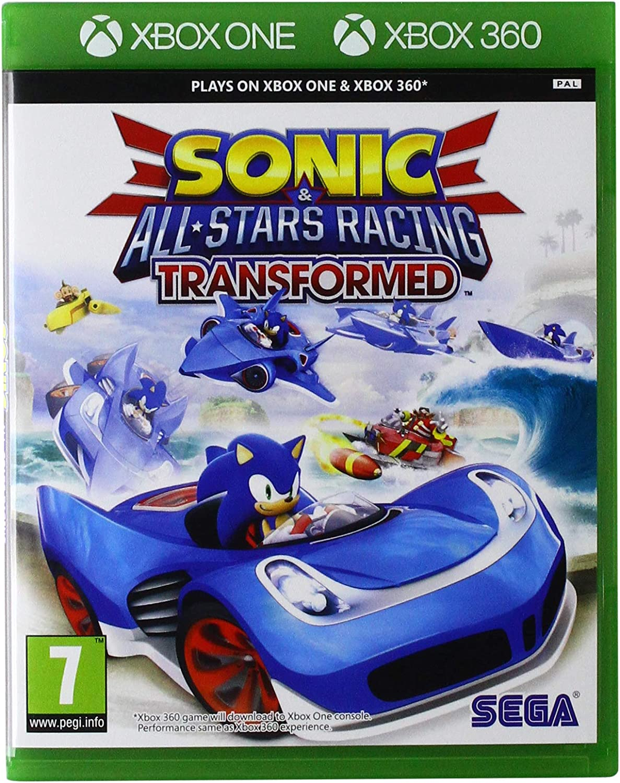 Xbox1 - Sonic & Sega All-Stars Racing Transformed (Xbox 360 ...