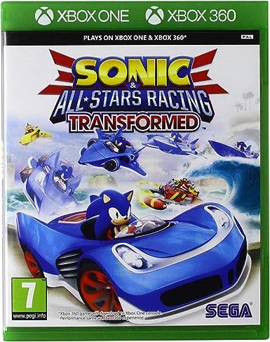 Oferta amazon: Xbox1 - Sonic & Sega All-Stars Racing Transformed (Xbox 360)
