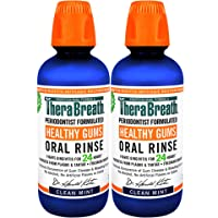 TheraBreath 24 Hour Healthy Gums Periodontist Formulated Oral Rinse, 16 Ounce (Pack...