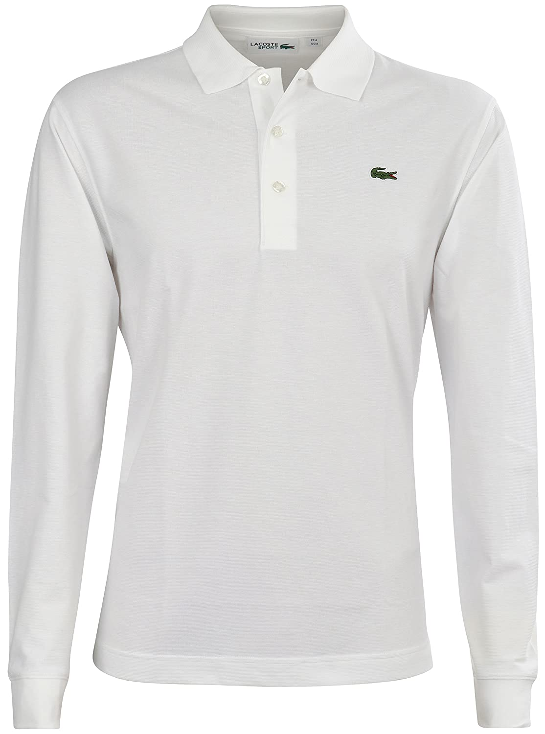 d6a85a9a Lacoste Men's L1330 Long Sleeve Polo Shirt: Amazon.co.uk: Clothing