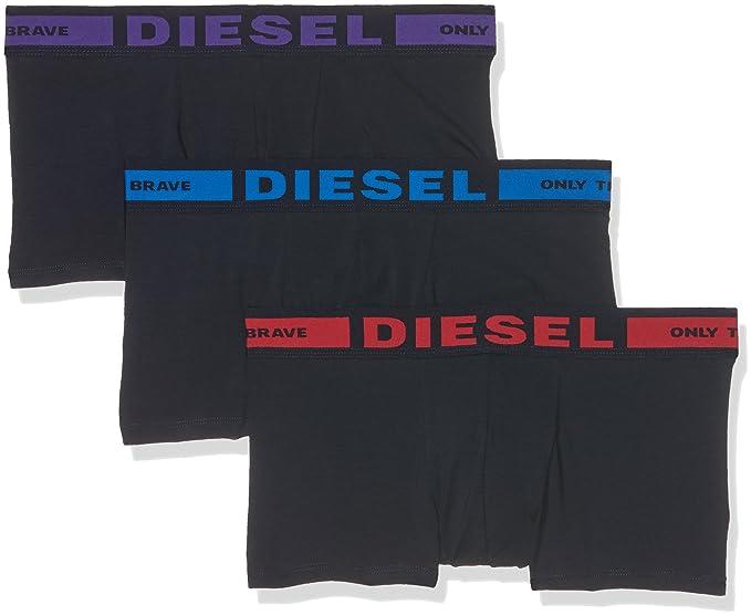 00CKY3, Bóxer para Hombre, Multicolor, Small (Tamaño del fabricante:S) Diesel