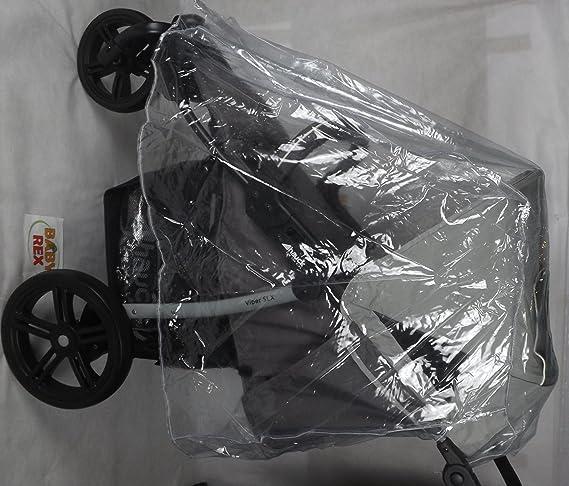 Nuevo protector de lluvia Rain Cover para 3 Wheeler carrito de bebé Hauck Mothercare Urban Detour +: Amazon.es: Coche y moto