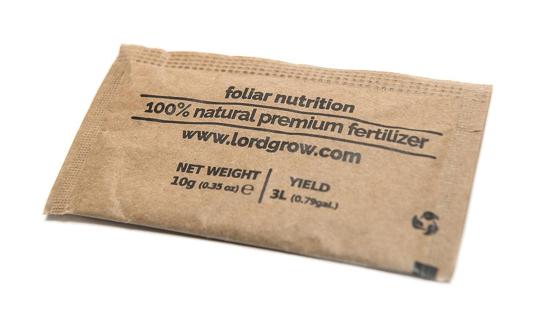 Lordgrow - Fertilizante Biomineral para Cannabis o Huerto Orgánico. Potencia el Crecimiento y Calidad. Certificado para Agricultura Ecológica.