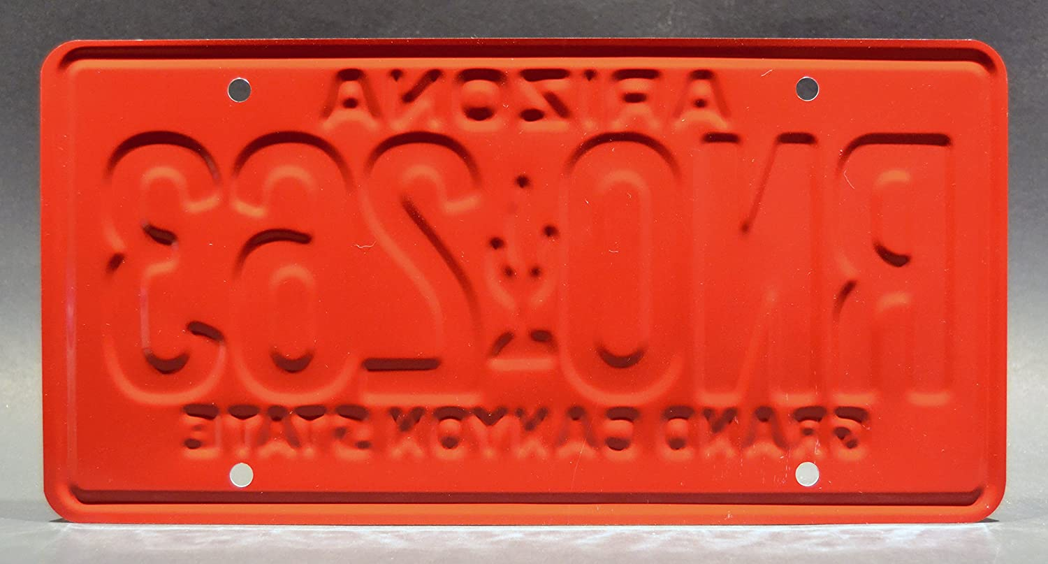 RNO 263 Metal Stamped Vanity Prop License Plate RNO263 Paul Walker/'s Green Eclipse Celebrity Machines The Fast and The Furious