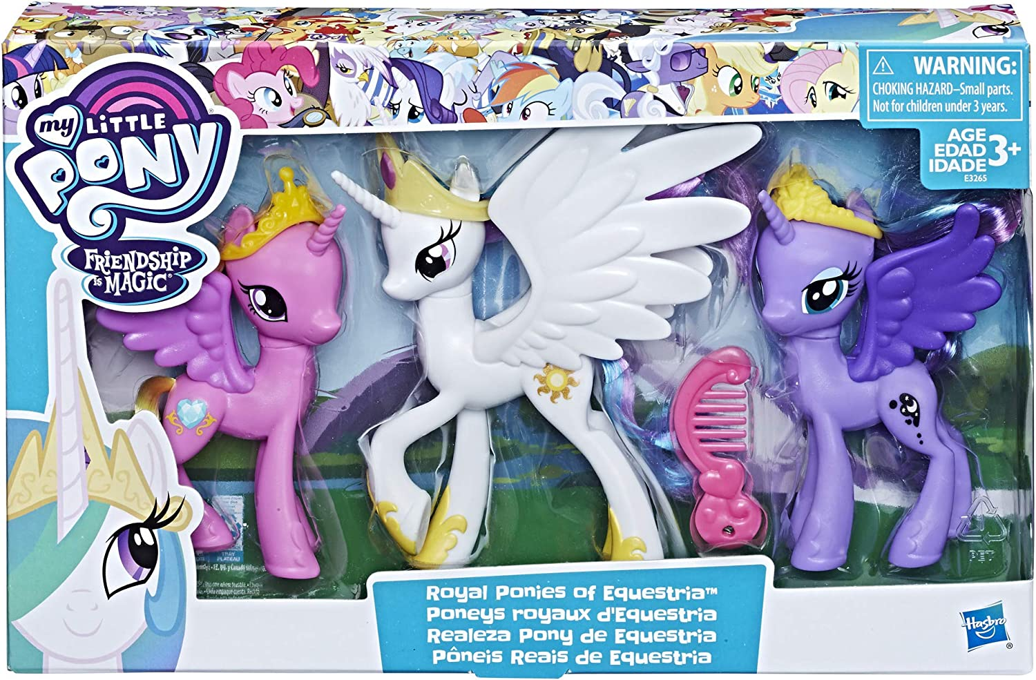 - Amazon.com: My Little Pony Royal Ponies Of Equestria Figures: Toys