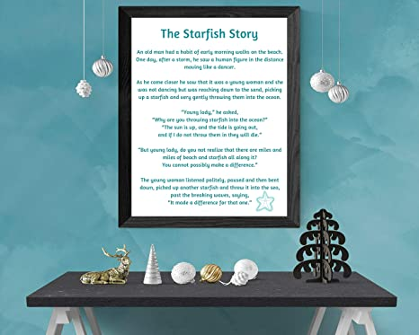 photograph about Starfish Poem Printable named : MalertaART Starfish Tale Starfish Poem by means of Loren
