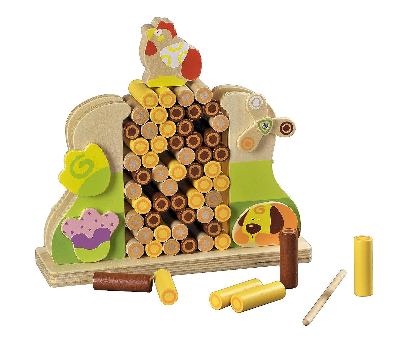 最も信頼できる 2 x 4おもちゃ B01EW3O72C – 木製ファームスティックStacking x Game – – Kids Games Age 3 + – FineモータースキルToy – 学習ゲームfor Toddlers – Hand Eye Coordinationゲーム – 天然木製おもちゃ B01EW3O72C, ef:597c2f08 --- dou13magadan.ru
