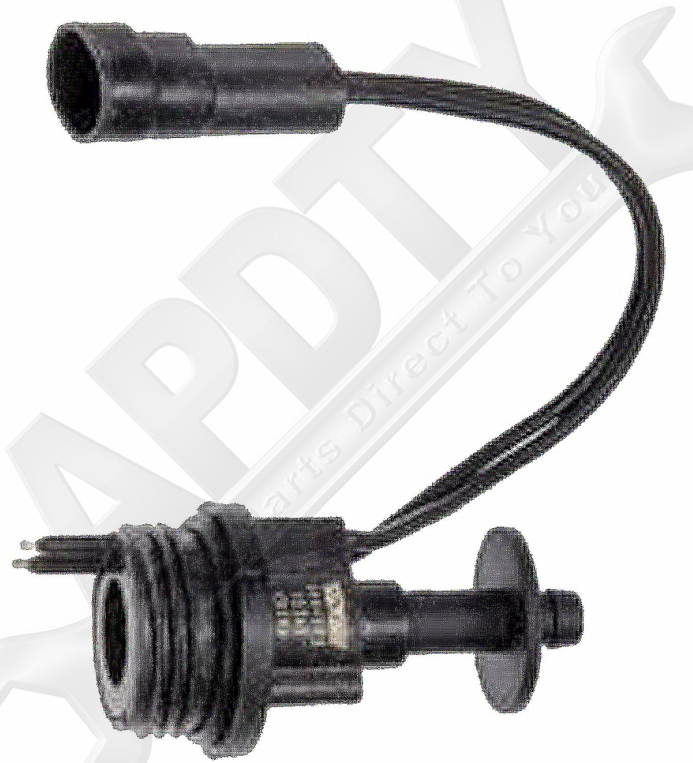 APDTY 015204 Water in Fuel Sensor With Wiring Harness Pigtail For 1989-1996 Dodge 5.9L Diesel Replaces Mopar 04429116