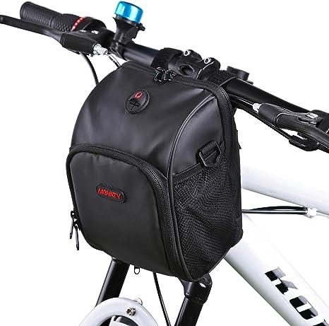 Movaty Bolsa de bicicleta de montaña impermeable multifuncional ...