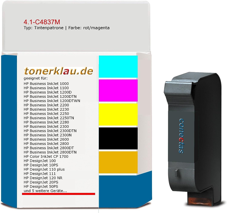 compatible Cartucho de tinta 4.1 de c4837 m para: HP Color Inkjet ...