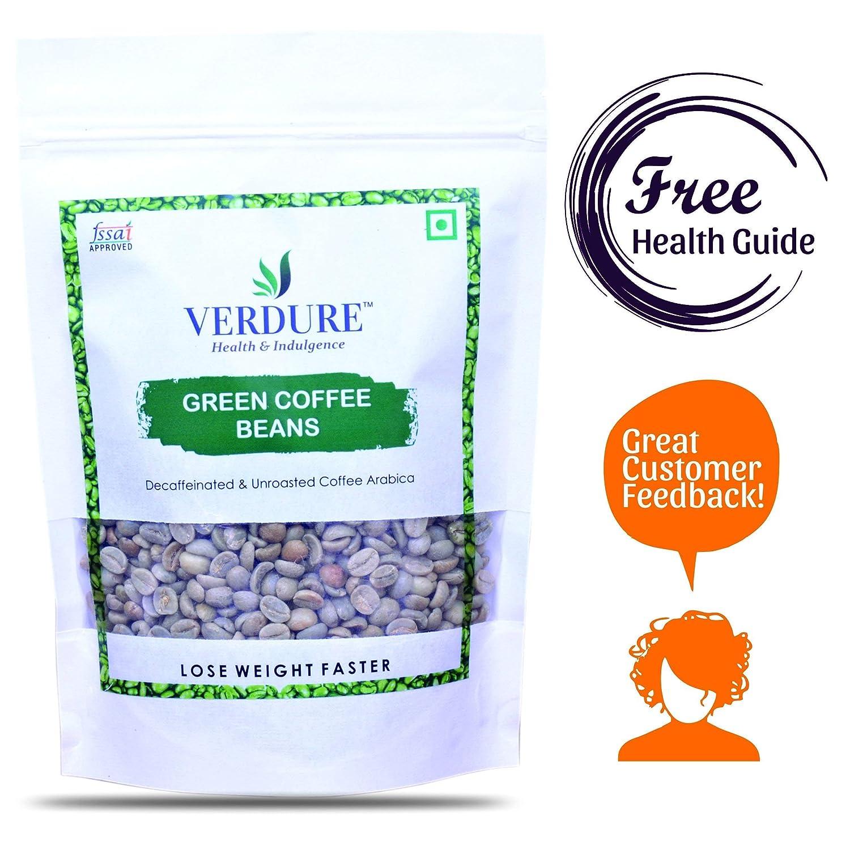 Verdure Premium Green Coffee Beans For Weight Loss 350gm