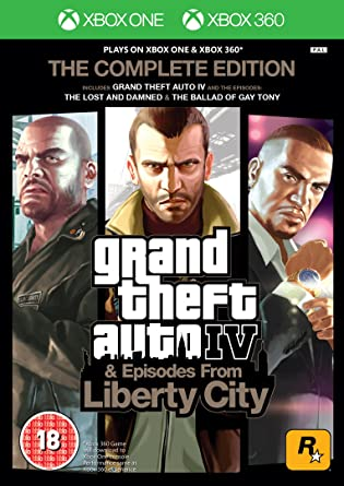 Gta Iv Complete Edition Xbox  Xbox One