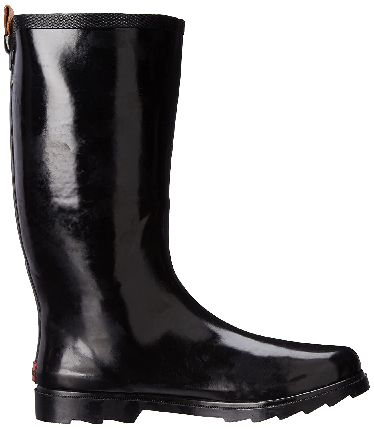 Chooka Women's Tall Rain B(M) Boot B00J57WAT8 8 B(M) Rain US|Black/Shiny c07e1b
