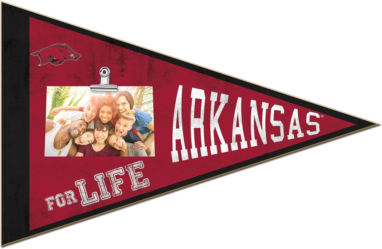 Multi KH Sports Fan 18.5x12 Arkansas Razorbacks Pennant Clip-It Photo Frame