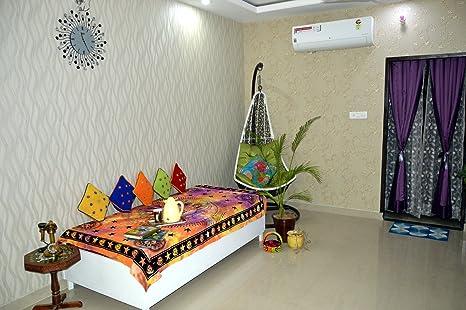 Camere Da Letto Stile Hippy : Mandala letto singolo indiano hippie gypsy bedding per camera da