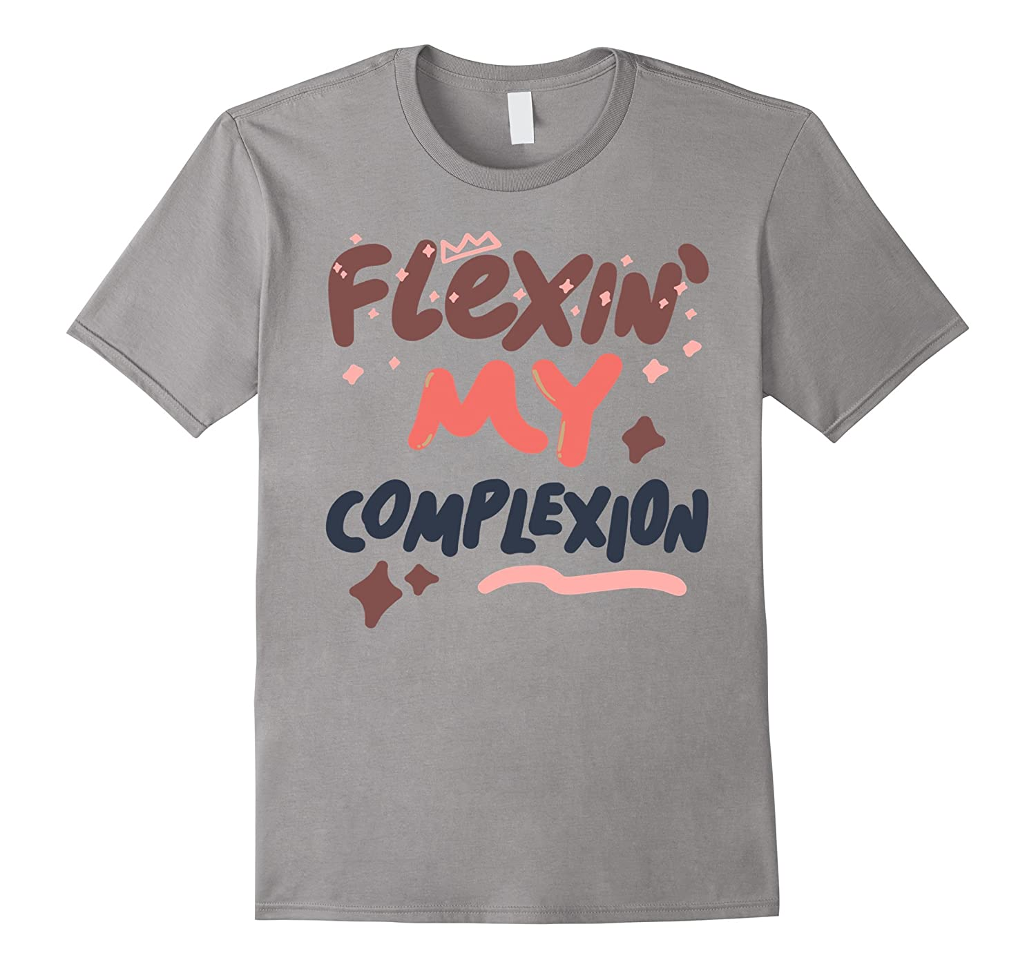 f3b7eaff4d8 Flexin My Complexion T-shirt Melanin Poppin Black Girl Magic – Brvttee.com