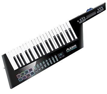 Alesis Vortex Wireless 2 - Controlador Keytar Inalámbrico USB, MIDI de Alto Rendimiento con Suite de Software Premium Incluida, color negro: Amazon.es: ...