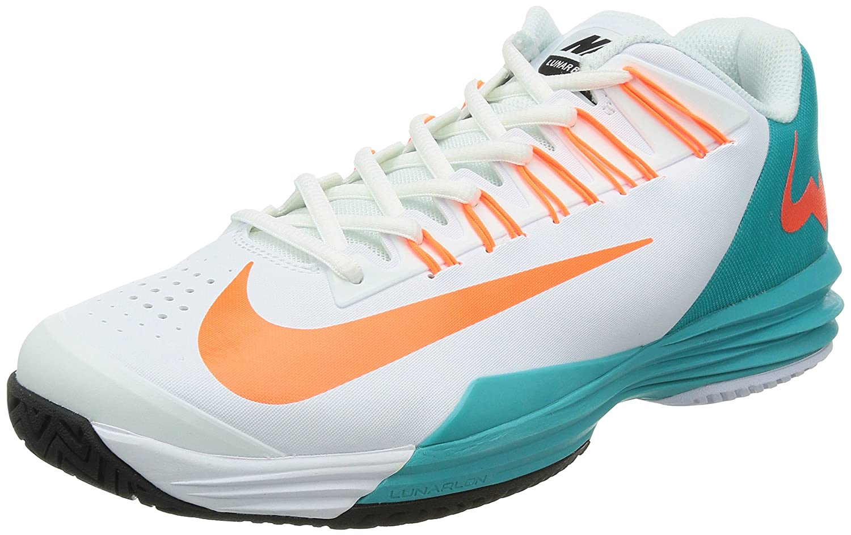 Amazon.com | New Nike Men's Lunar Ballistec Tennis Shoes White/Dusty Cactus  11 | Skateboarding