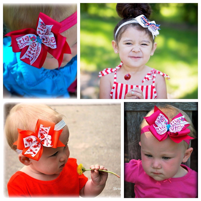 Infant Headband Back the Blue Headband Thin Blue Line Headband Cop Bow Police Headband Baby Headband Police Baby Girl Newborn Headband