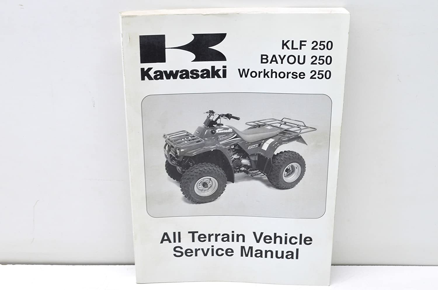 Amazon.com: Kawasaki 99924-1284-03 2003-2005 KLF 250, BAYOU 250, Workhorse  250 Service Manual QTY 1: Automotive