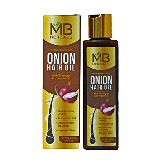 MB Herbals Red Onion Hair Oil