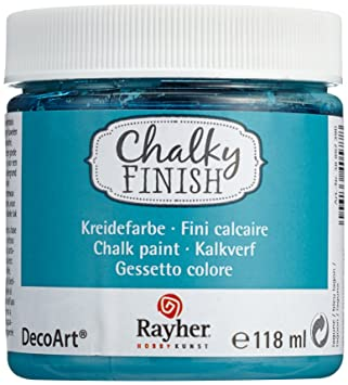 Rayher 38867390 Chalky Finish Auf Wasser Basis Kreide Farbe Fur