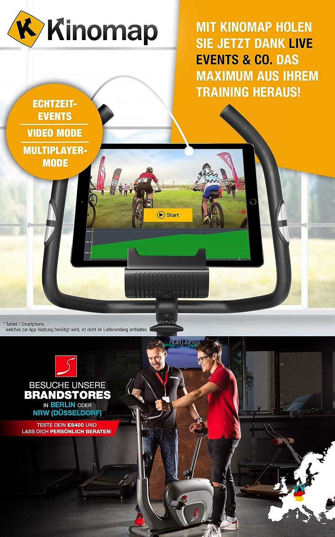 Sport STech Ergometer estática ES400 & esx500 - Control de App ...