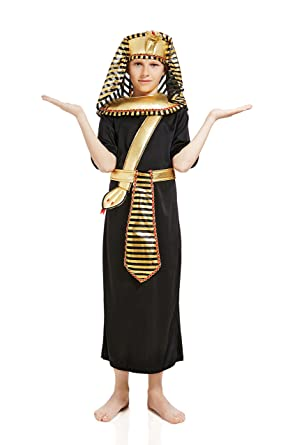 kids boys king pharaoh tut halloween costume egyptian god dress up role play 3 - Egyptian Halloween Costumes For Kids