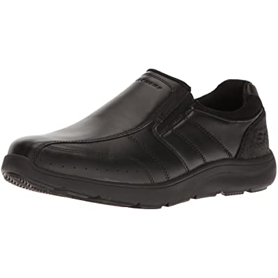 Skechers USA Men's Montego Alvero Slip-on Loafer, Black, 13 M US | Loafers & Slip-Ons