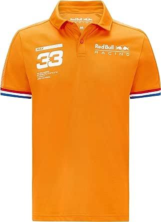 Red Bull Racing Polo Max Verstappen - Naranja naranja