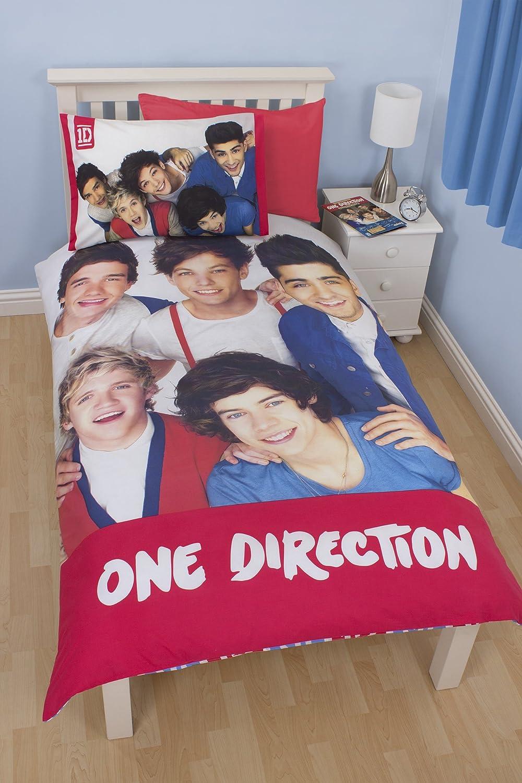 Copripiumino Singolo One Direction.Pannello Singolo Copripiumino Motivo One Direction