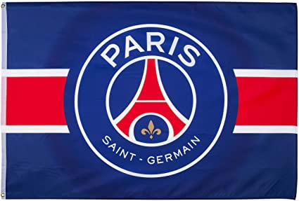 Paris Saint Germain PSG Flag Official Collection 150 x 100 cm