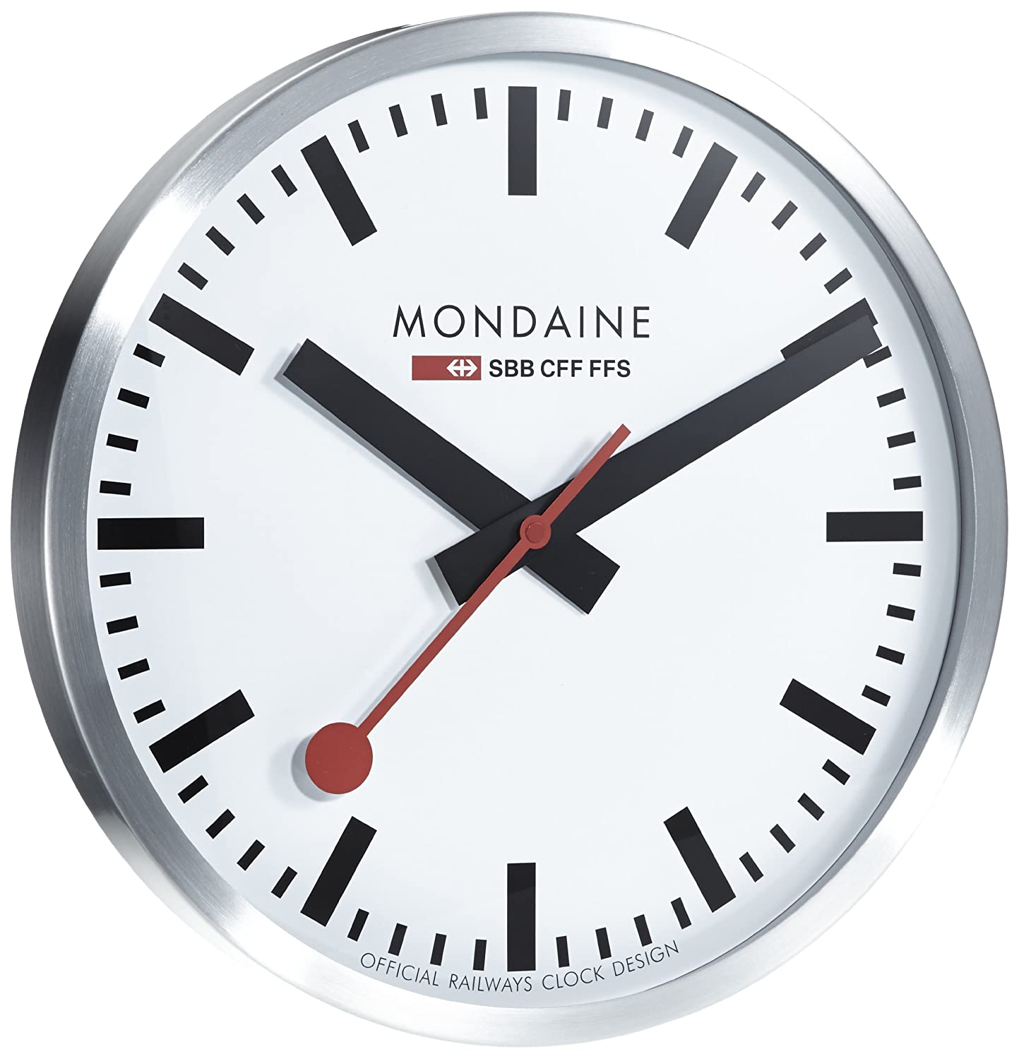 Amazon.com: Mondaine A995. Clock. 16SBB Reloj de pared Gran ...