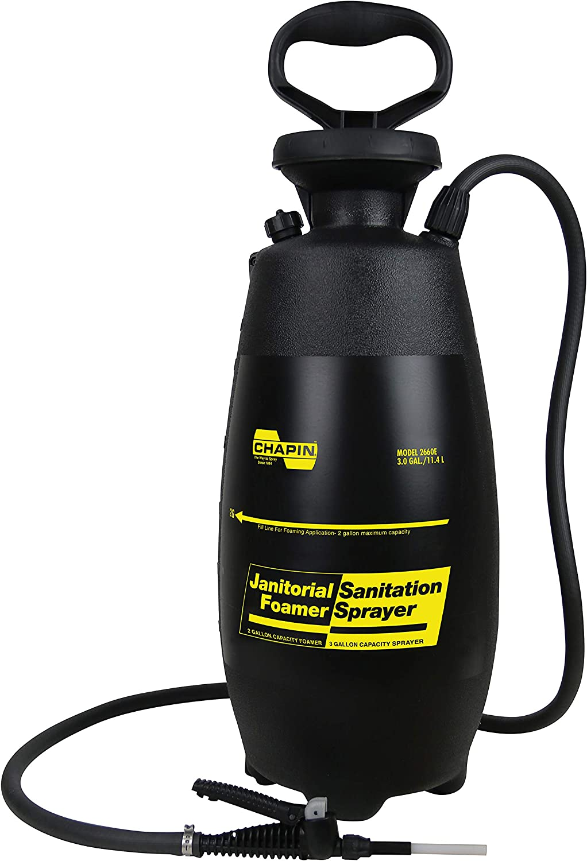 Chapin International Chapin 2660E 3-Gallon Industrial Janitorial/Sanitation Poly Foamer/SPR