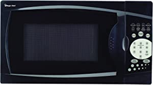 Magic Chef MCM770B 700 Watt 0.7 Cubic Feet Microwave with Digital Touch Controls, Black