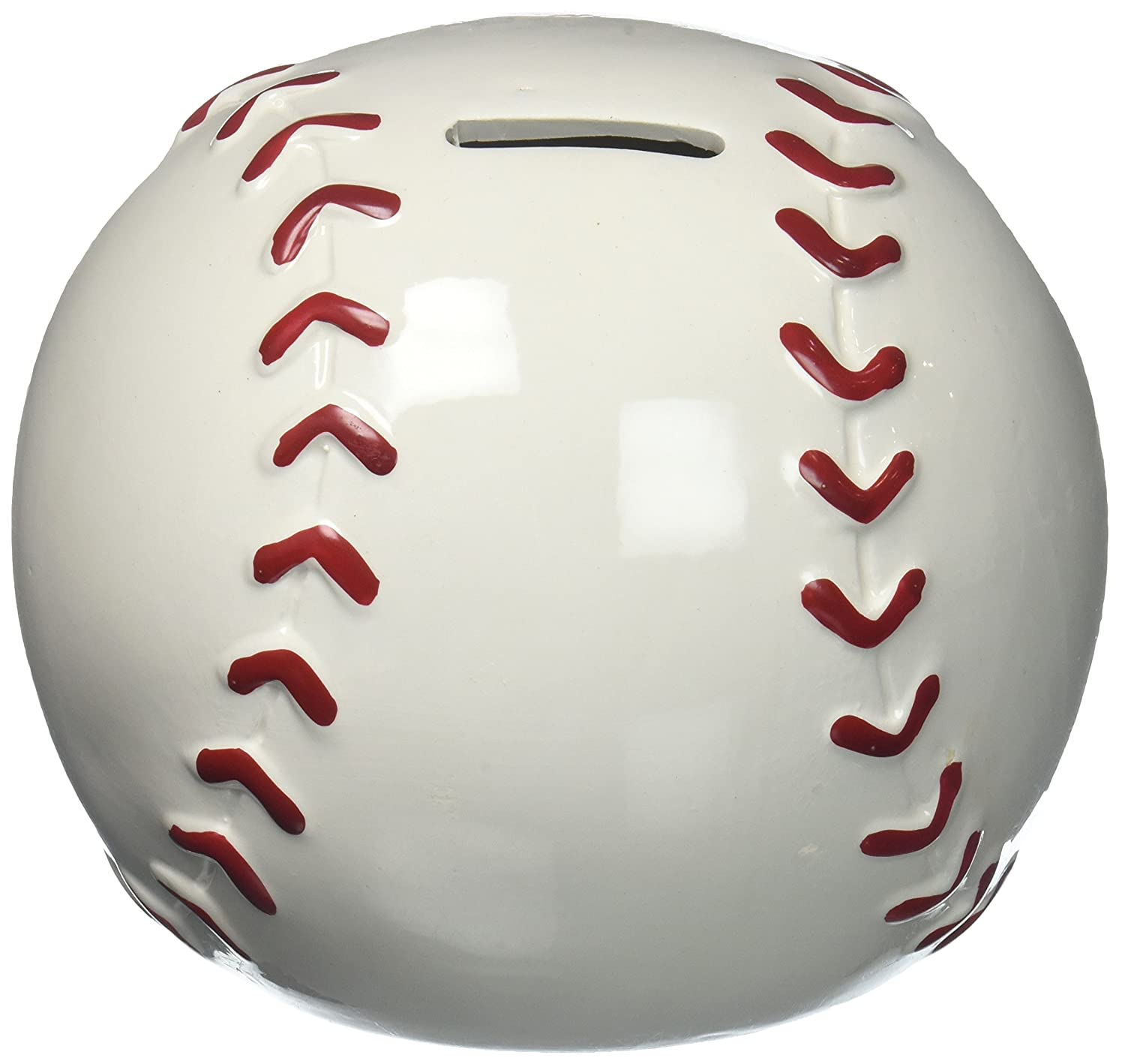 Baseball Shape Piggy Bank