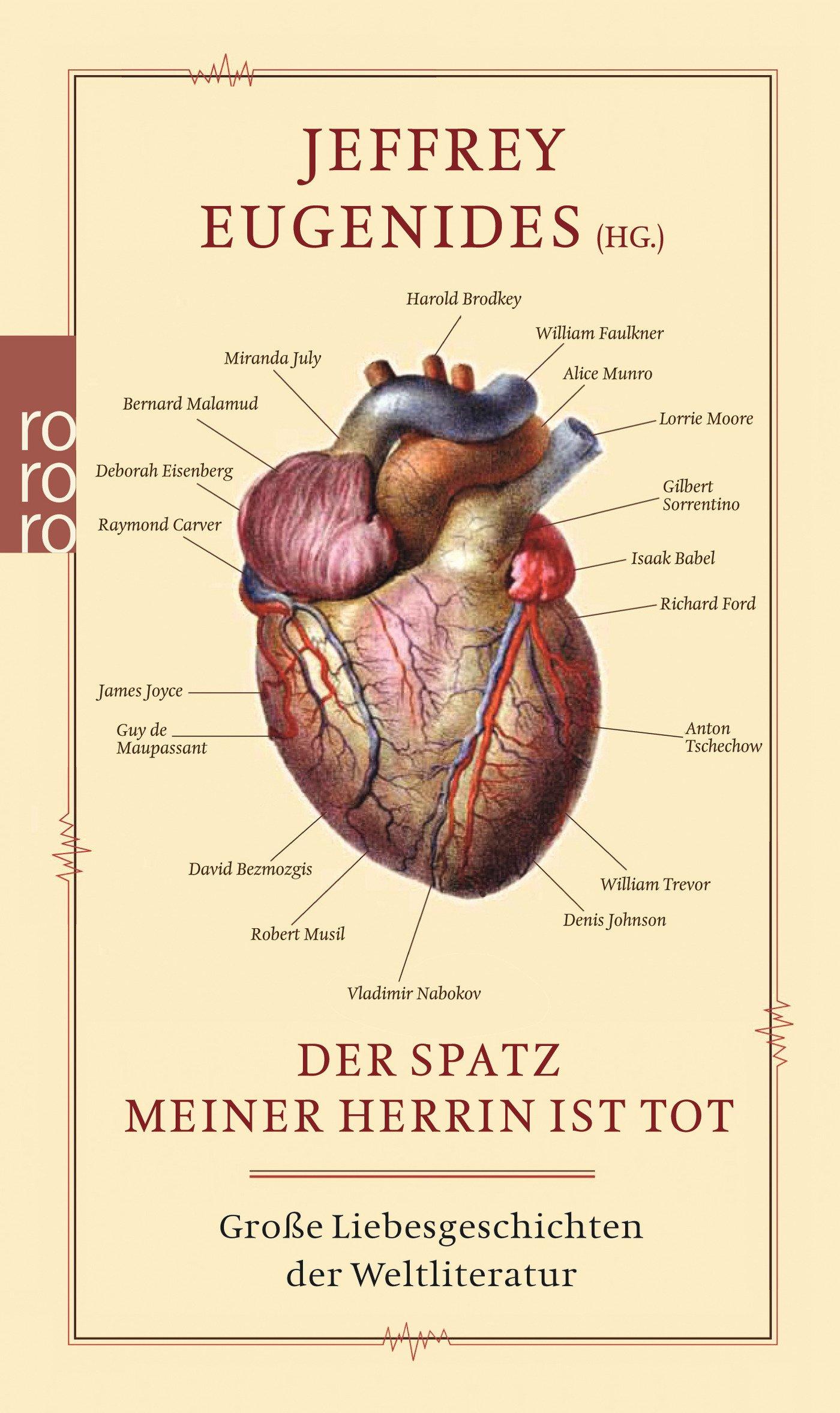 Der Spatz meiner Herrin ist tot: Große Liebesgeschichten der Weltliteratur